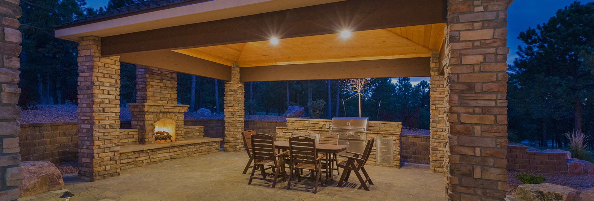 outdoor covered patio